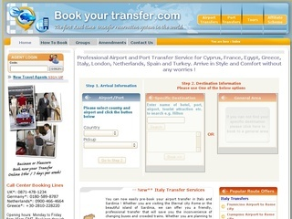 Airport and port transfer services