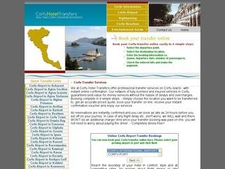 Corfu Hotel Transfers