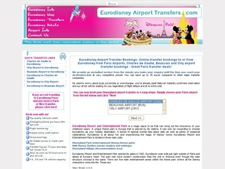 Eurodisney airport transfer services